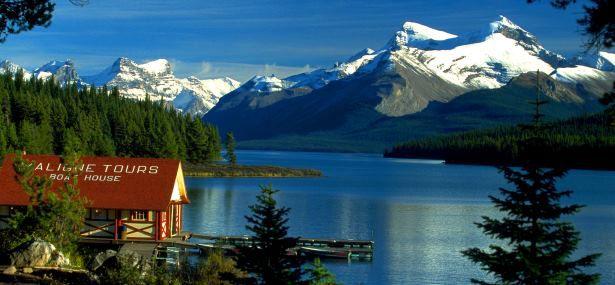 RV Hire Jasper Canada Lake Views