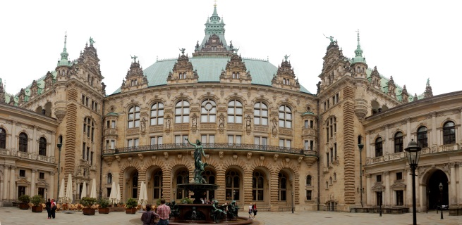 City Hall Hambuurh Germany