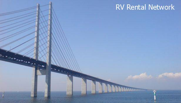 Helsingborg Campervan Hire and Bridges